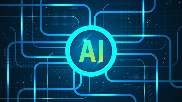 The AI operating system is at the heart of the operation of the system.