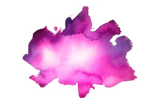 hand painted pink watercolor stain texture