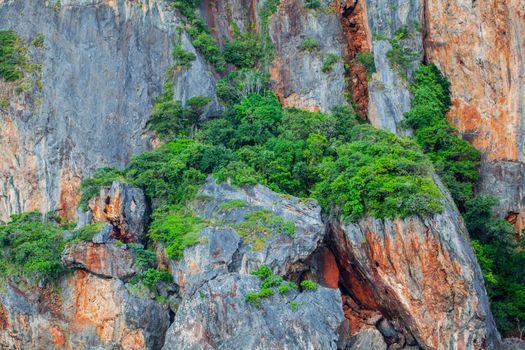 Limestone mountains in Thailand
