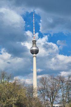 The Fernsehturm, Berlins highest building