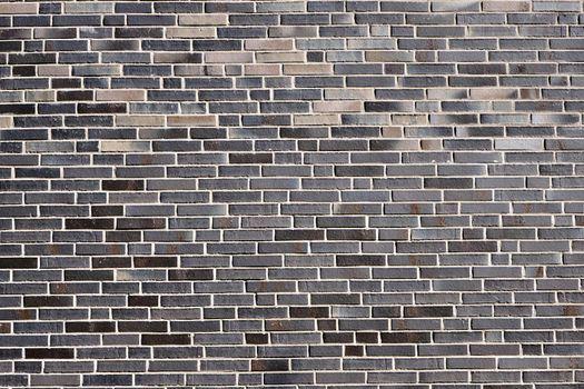New gray brick wall