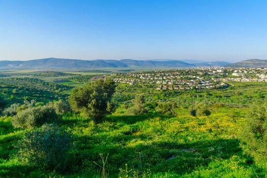 Landscape and countryside of the western Lower Galilee