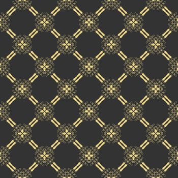 Seamless openwork pattern for textures, textiles, packaging and simple backgrounds