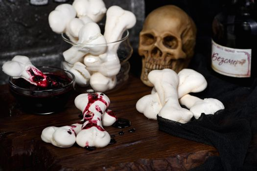 Creepy Bones for Halloween