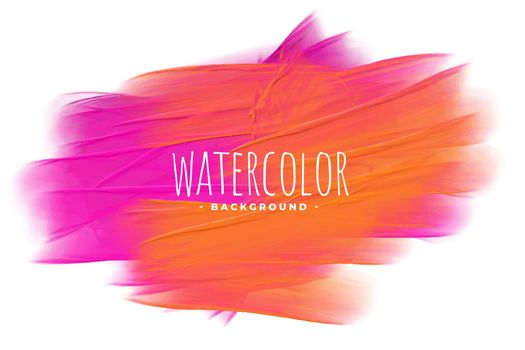 pink and orange watercolor texture stain background