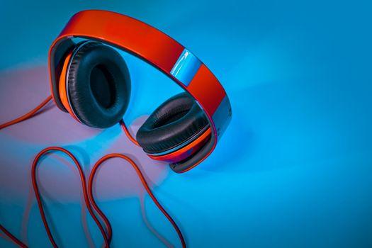 Red Stylish Headphones