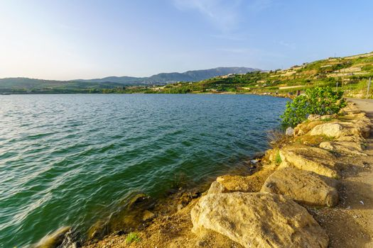 Lake Ram (Ram Pool) in the Golan Heights