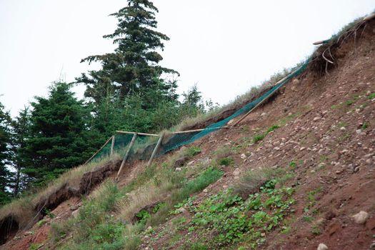 unsafe fence eroding