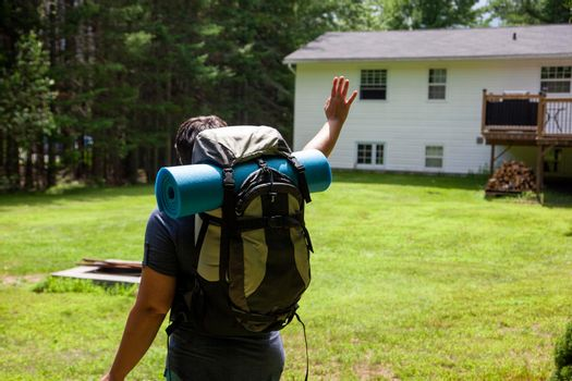 going away on a solo camping trip