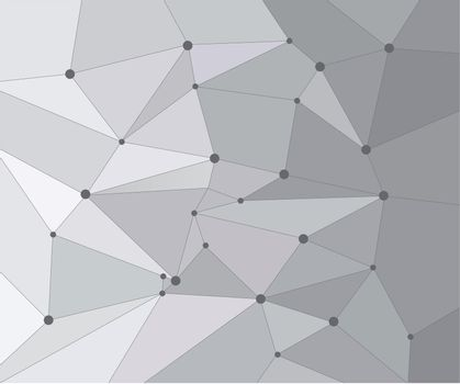 Geometric graphic background molecule and communication. Big data complex with compounds. Perspective backdrop. Digital data visualization. Scientific cybernetic vector illustration.