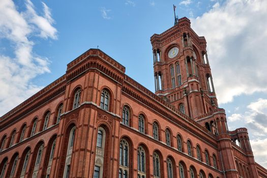 The famous Rotes Rathaus