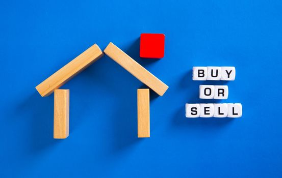 To buy or sell a house. Real estate property.