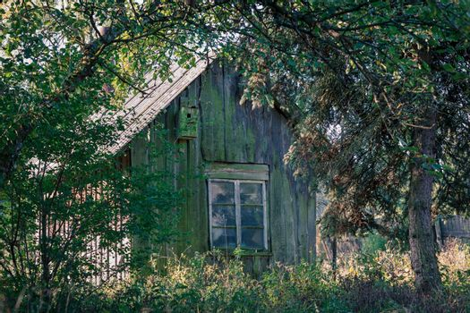 Very old neglected country-house