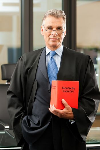 Lawyer with civil law code