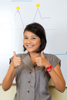Indonesian Businesswoman in agency
