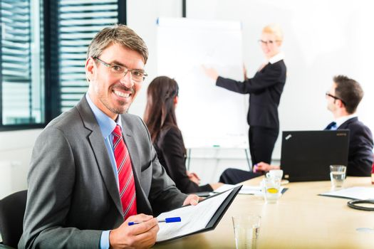 Business - businesspeople have team meeting