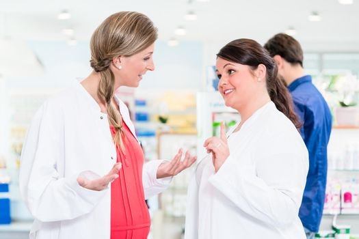 Pregnant pharmacist in protective employment ban