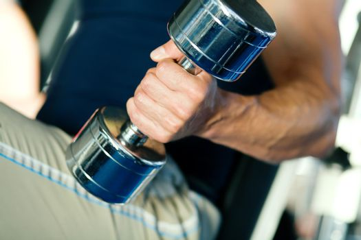 Strength and dumbbell