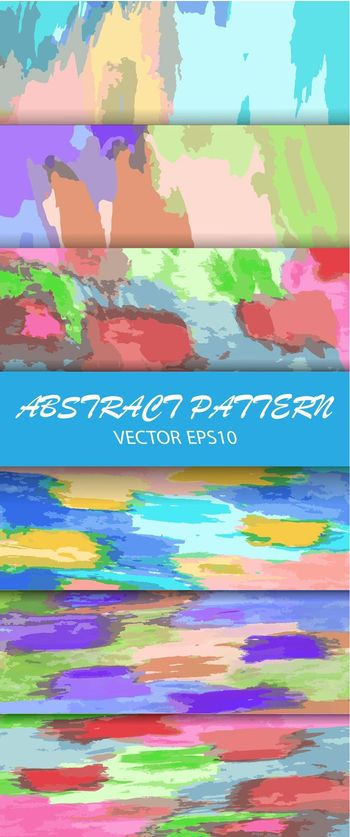 set of abstract vector patterns for a wide range of applications, backgrounds, banners, posters, textures, prints, and theme design. Vector illustration