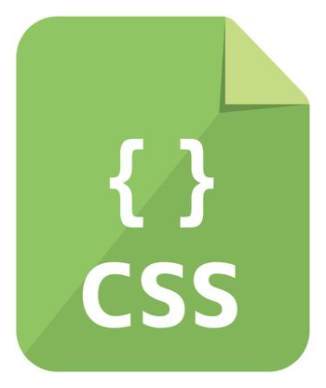 CSS icon | Major programming language vector icon illustration ( color version )