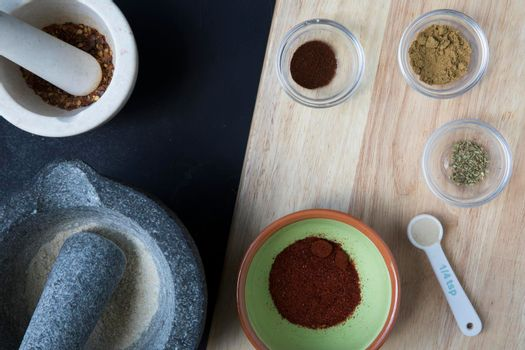 Spices for Making Homemade Seasoning
