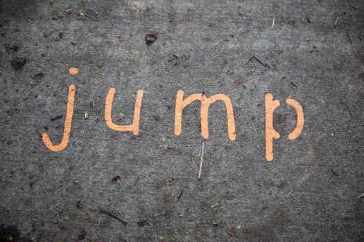 Jump on Sidewalk