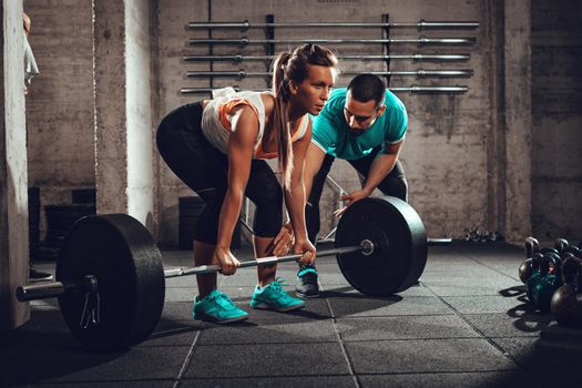 Training With A Personal Trainer