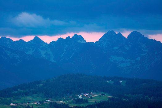 View from Czarna Gora