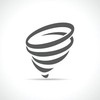 Vector funnel symbol icon design