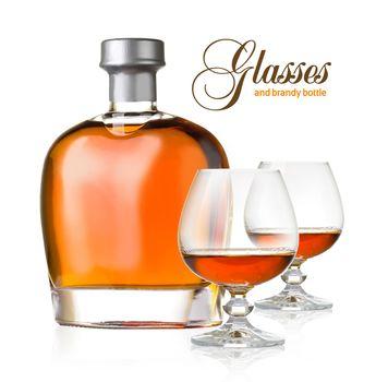 glasses brandy