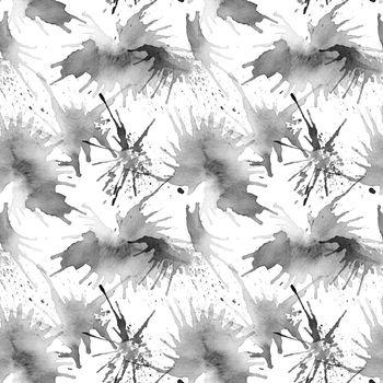 Ink blots pattern