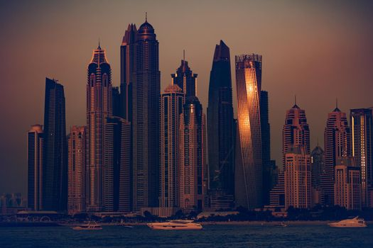Dubai Evening Time