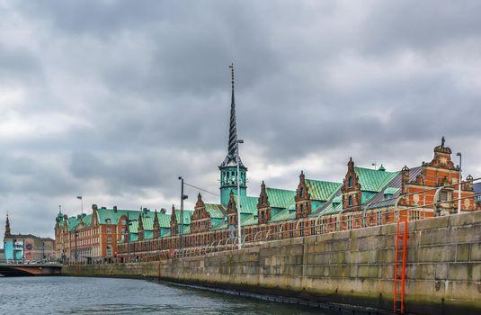 Borsen (The Stock Exchange), Copenhagen, Denmark