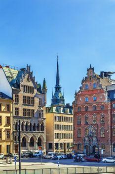 Square in Gamla Stan, Stockholm, Sweden