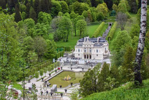 Linderhof Palace,Bavaria, Germany