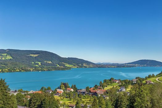 View of Attersee, Austria