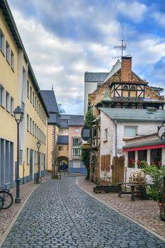 Street in Frankfurt, Germany