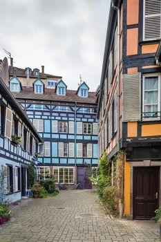 Courtyard in Strasbourg, France