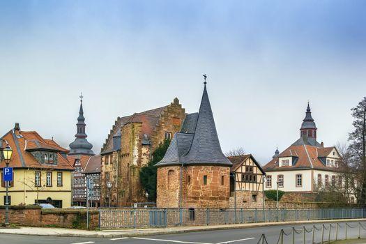 View of Budingen, Germany