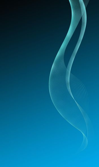 Abstract Wire Mesh Wave Background
