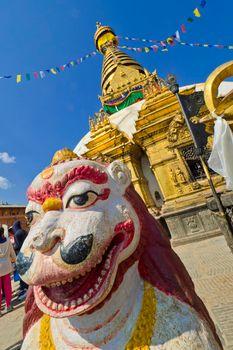 Swayambhunath Stupa, Swayambhunath Temple, Kathmandu, Nepal