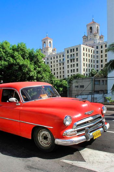Famous Old Car, Havana, Cuba