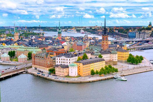 Riddarfjärden, Cityscape View, Stockholm, Sweden