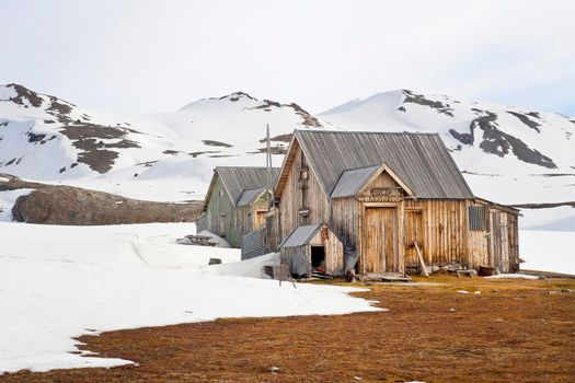 Camp Mansfield, Ancient Remains Old Marble Quarry, Svalbard, Norway