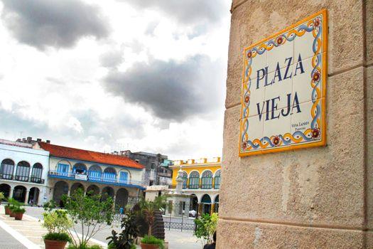 Old Square, Plaza Vieja, Havana, Cuba