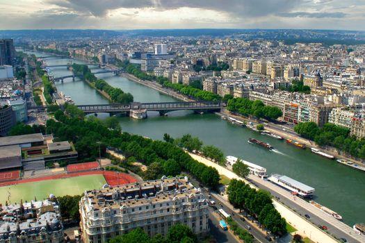 Cityscape View, Paris, France