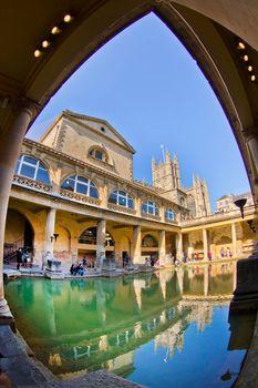 Roman Baths, Somerset, Great Britain