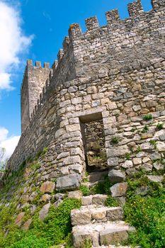 Leiria Castle Ruins, Leiria, Portugal