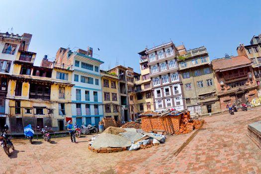 Thamel Tourist Area, Kathmandu, Nepal