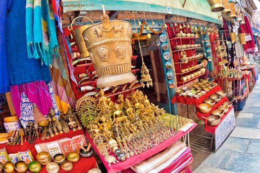 Souvenirs Shop, Bhaktapur, Kathmandu, Nepal